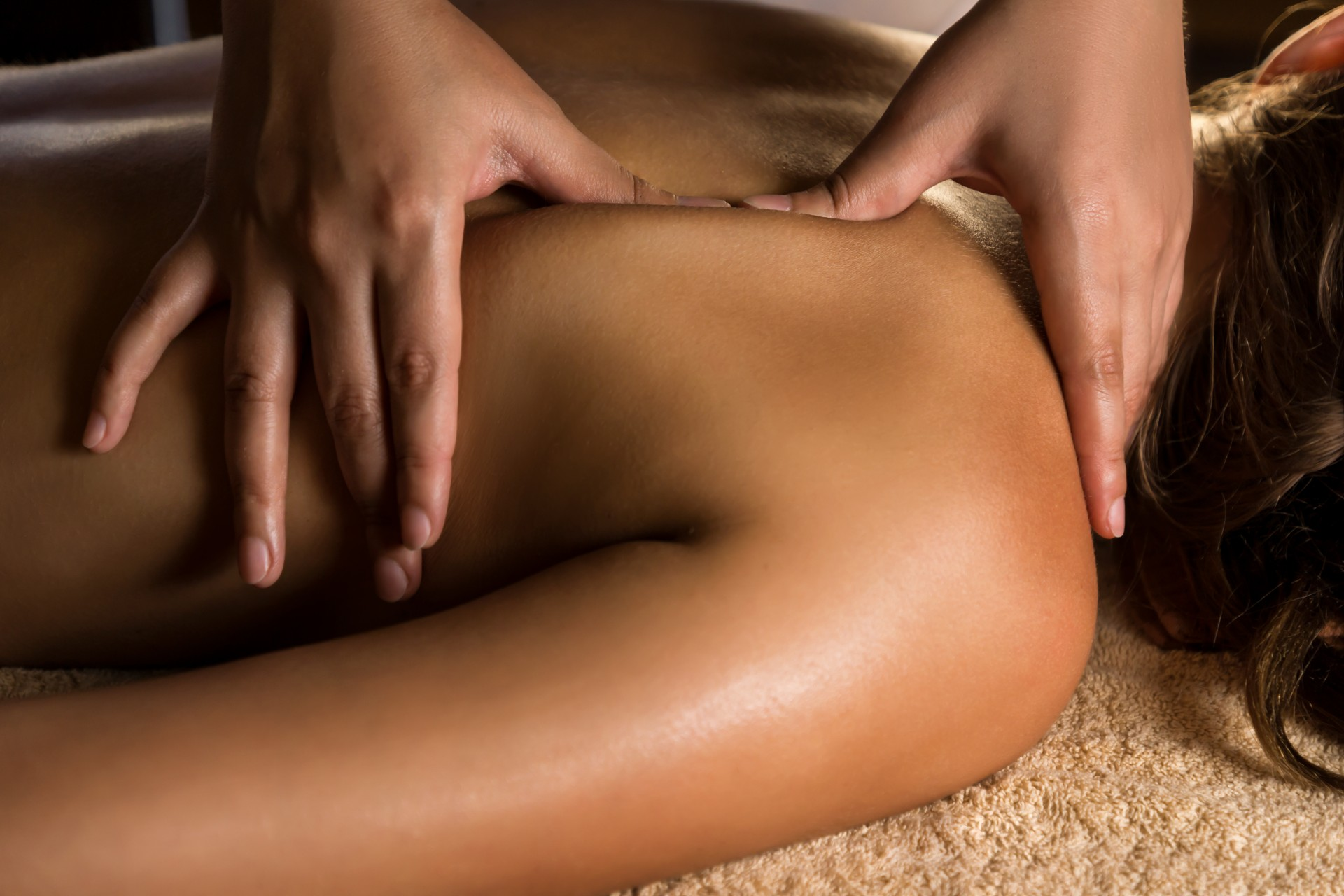 showing the concept of Massage Therapy