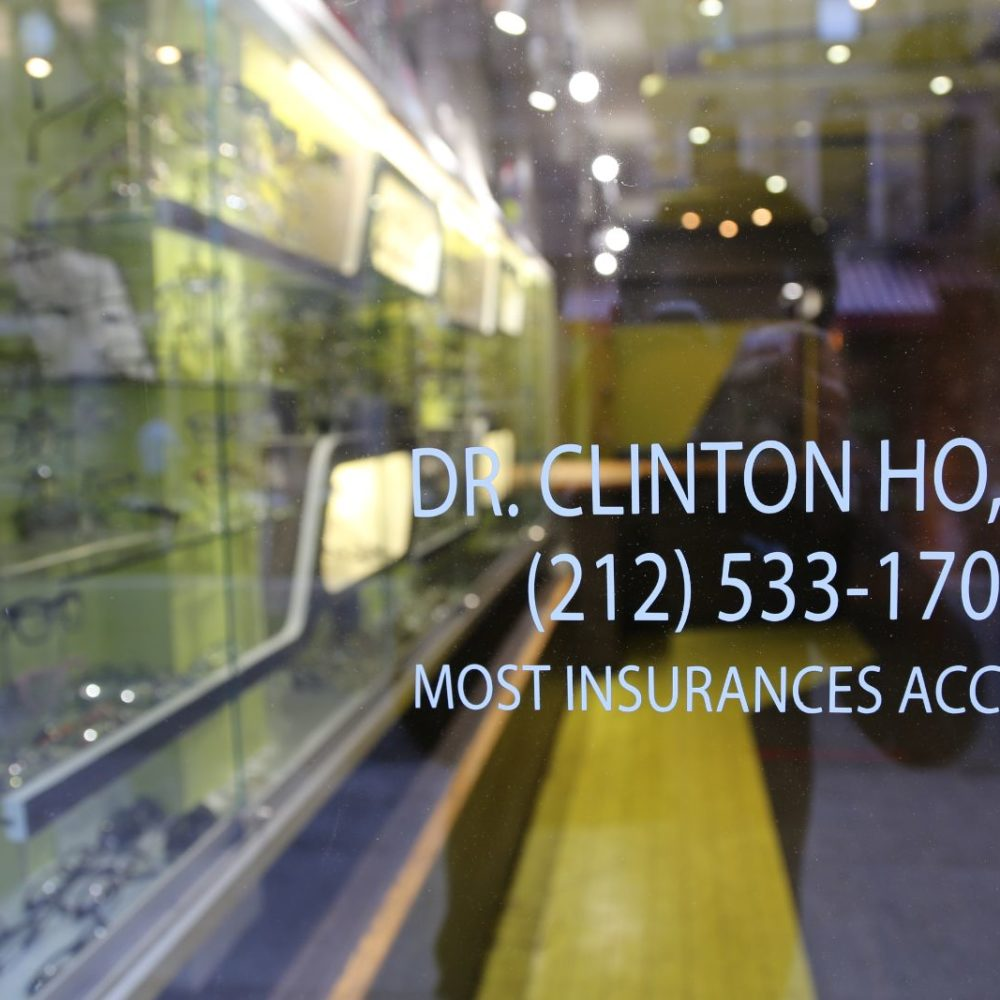 Office Storefront front window