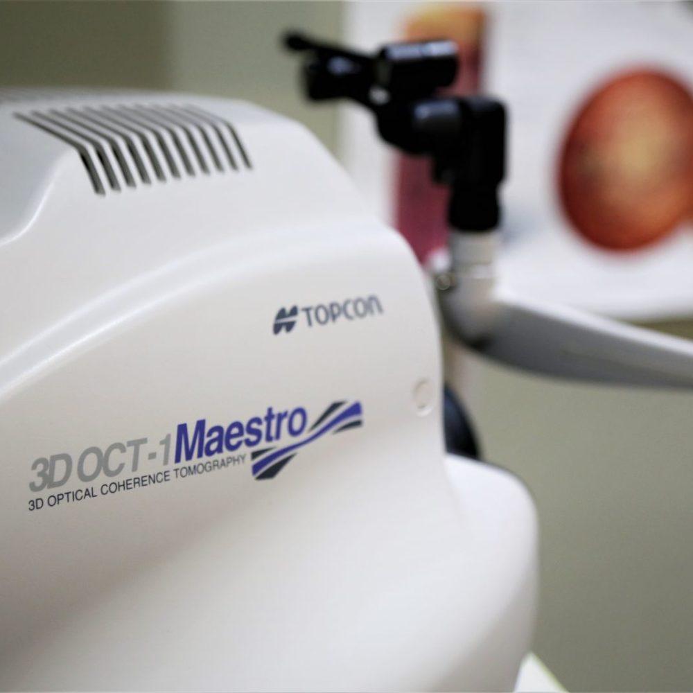 Topcon OCT 3D Maestro